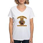 Needles California Police Women's V-Neck T-Shirt