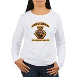 Needles California Police Women's Long Sleeve T-Sh
