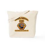 Needles California Police Tote Bag