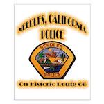 Needles California Police Small Poster