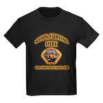 Needles California Police Kids Dark T-Shirt