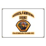 Needles California Police Banner