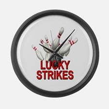 Lucky Strikes Large Wall Clock