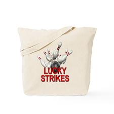 Lucky Strikes Tote Bag