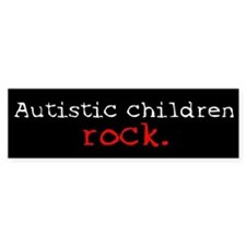 Autistic Children Rock Bumper Bumper Sticker