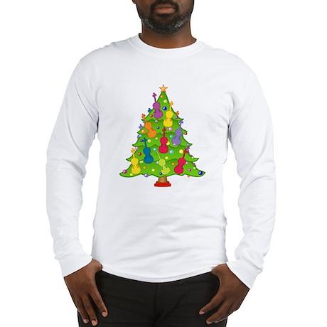 Violin Christmas Long Sleeve T-Shirt