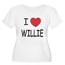 I heart Willie T-Shirt