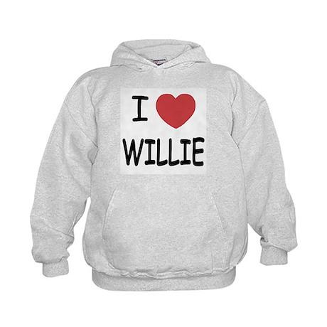 I heart Willie Kids Hoodie
