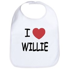 I heart Willie Bib