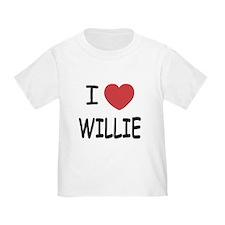 I heart Willie T