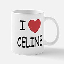 I heart Celine Mug