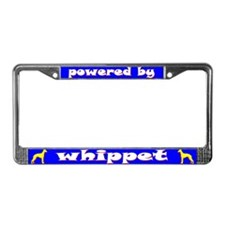 Powered by Whippet License Plate Frame