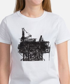 Vintage Oil Rig Women's T-Shirt