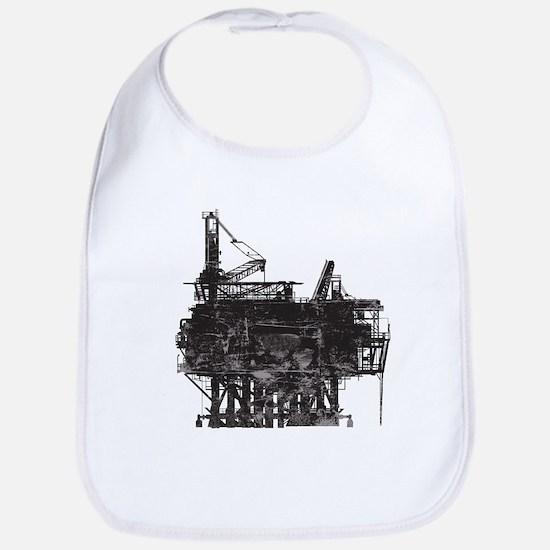 Vintage Oil Rig Bib