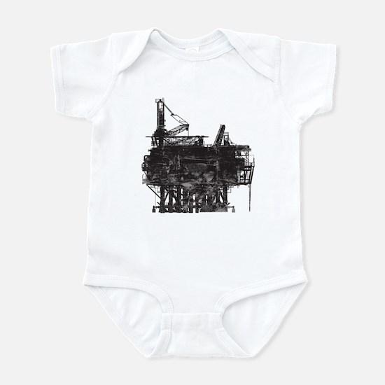 Vintage Oil Rig Infant Bodysuit