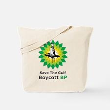 Save The Gulf Boycott BP Tote Bag