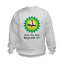 Save The Gulf Boycott BP Sweatshirt