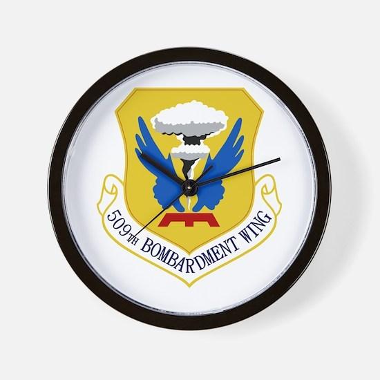 509th Bomb Wing Wall Clock