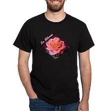 In Bloom Black T-Shirt
