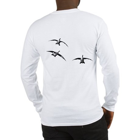 Incoming Geese Long Sleeve T-Shirt