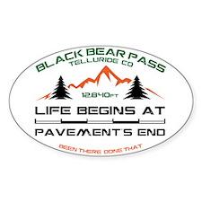 Black Bear Pass Decal