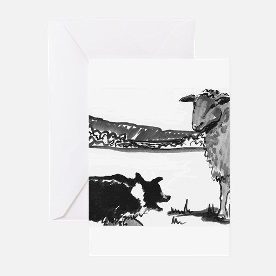 The Stand Off Greeting Cards (Pk of 10)