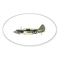 Curtiss Helldiver Oval Decal