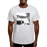 Border collies Mens Light T-shirts