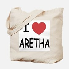I heart Aretha Tote Bag