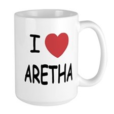I heart Aretha Ceramic Mugs