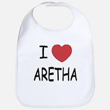 I heart Aretha Bib
