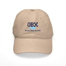 Ocracoke Island - Map Design Baseball Cap