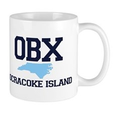 Ocracoke Island - Map Design Mug