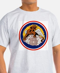 100th Fighter Squadron Ash Grey T-Shirt