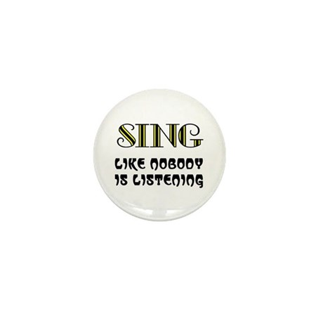LOVE TO SING Mini Button (100 pack)
