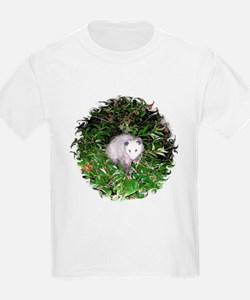 Opossum Cherry Tree T-Shirt