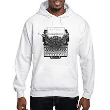 Vintage Typewriter Hoodie