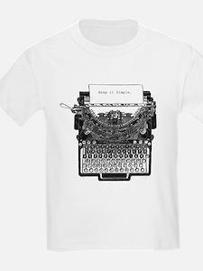 Vintage Typewriter T-Shirt