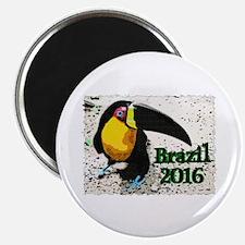 Brazil 2016 Magnet