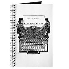 Vintage Typewriter Journal