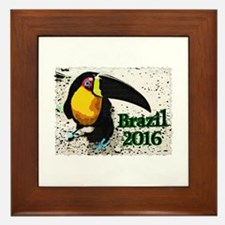 Brazil 2016 Framed Tile