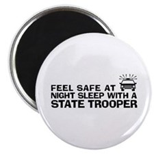 Funny State Trooper Magnet
