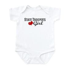 State Trooper's Girl Infant Bodysuit