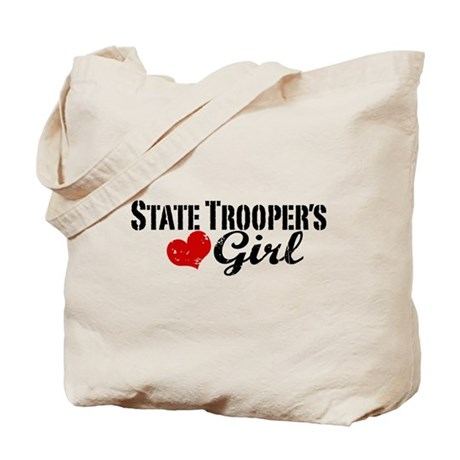 State Trooper's Girl Tote Bag