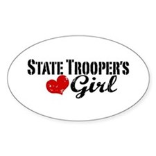 State Trooper's Girl Decal