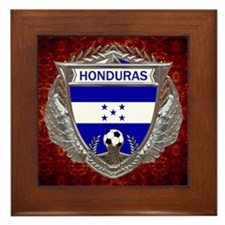 Honduras Soccer Framed Tile