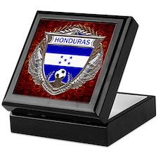 Honduras Soccer Keepsake Box