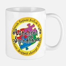 Asperger's Syndrome Puzzle Pi Mug