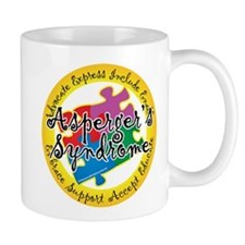 Asperger's Syndrome Puzzle Pi Mug