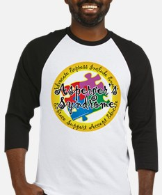 Asperger's Syndrome Puzzle Pi Baseball Jersey